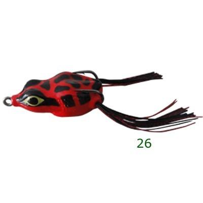 Isca Artificial Yara Lures Crazy Frog 4,5cm 9g  - Pesca Adventure