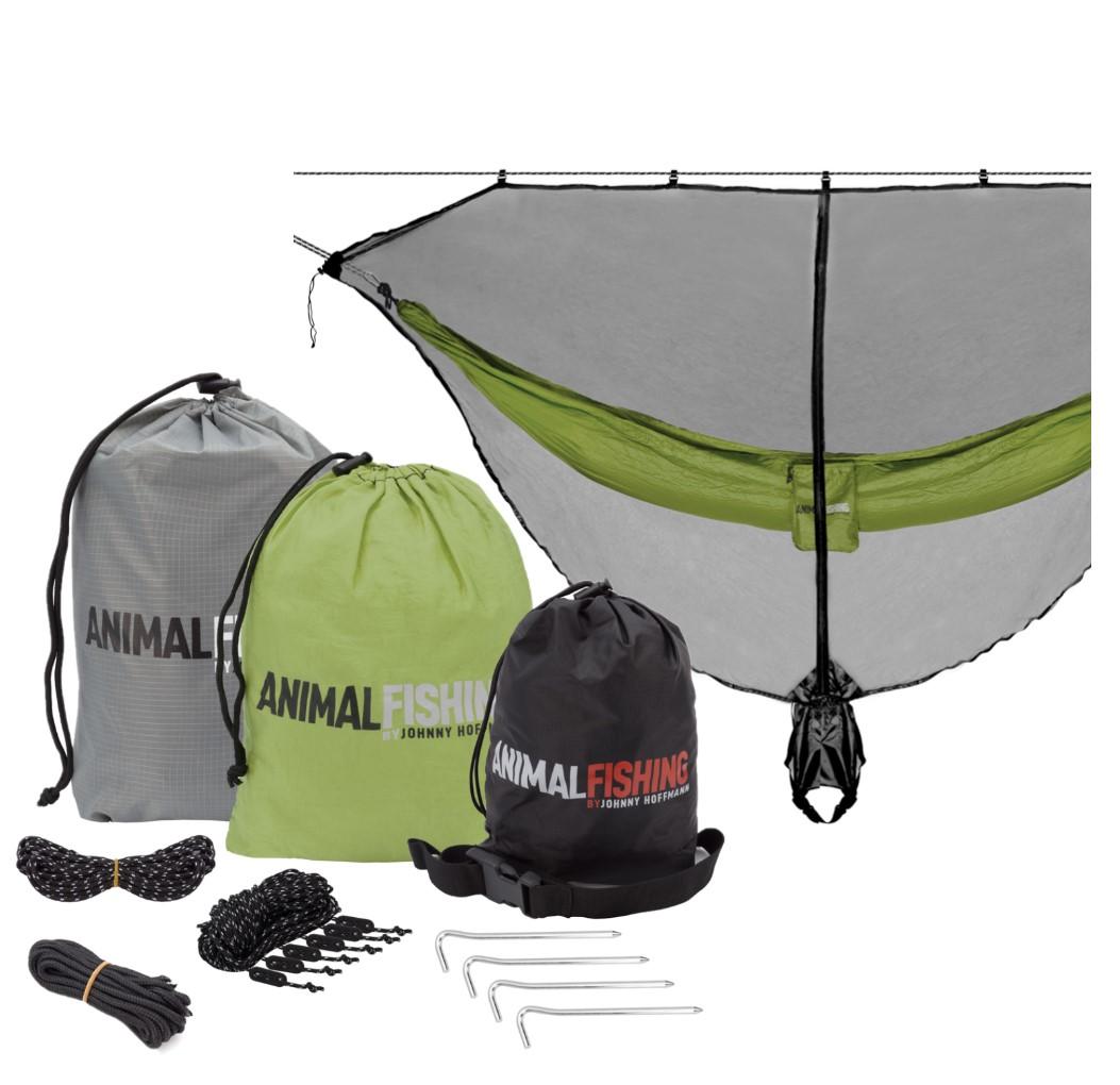 Kit Completo De Rede Para Acampamento Animal Fishing  - Pesca Adventure