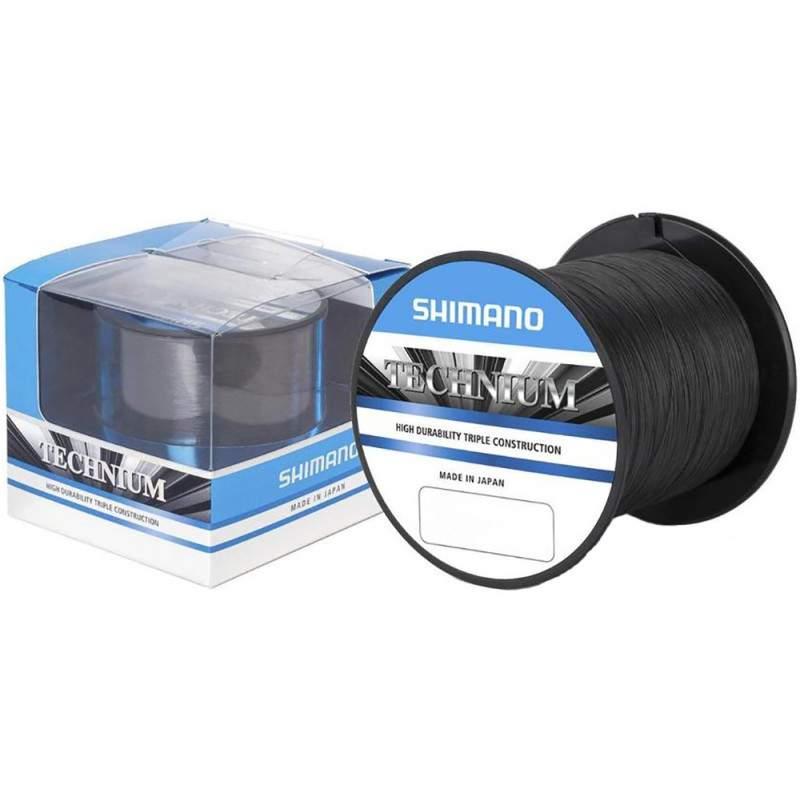 Linha Monofilamento Shimano Technium  0,255mm 13,4lb 300m