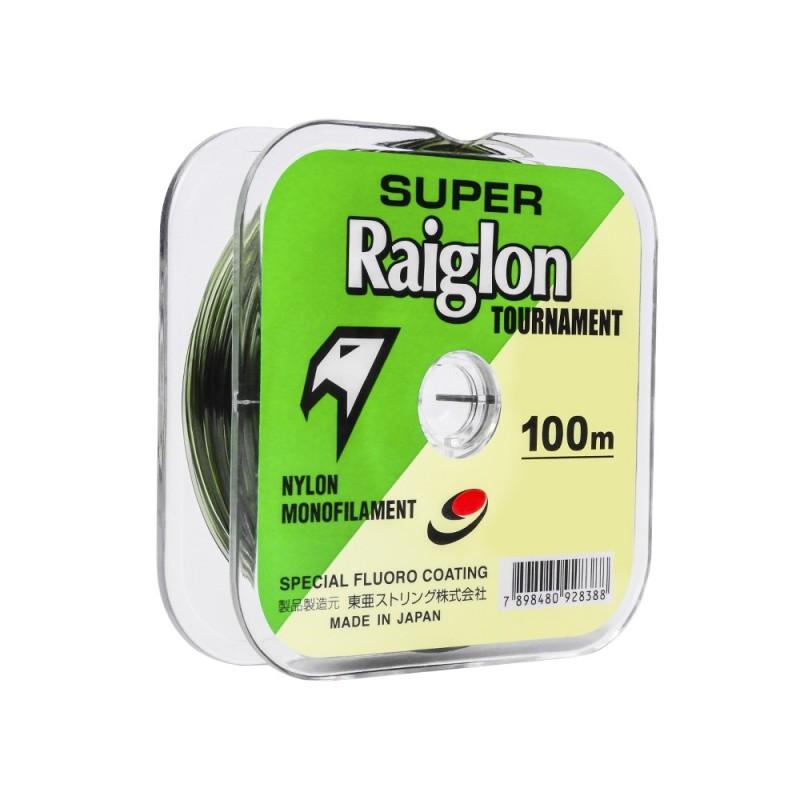 Linha Monofilamento Super Raiglon Tournament 0,700mm 82,3lb 100m