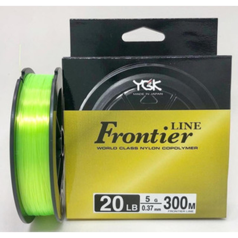 Linha Monofilamento Ygk Frontier Line 0.47mm 30lb 300m  - Pesca Adventure