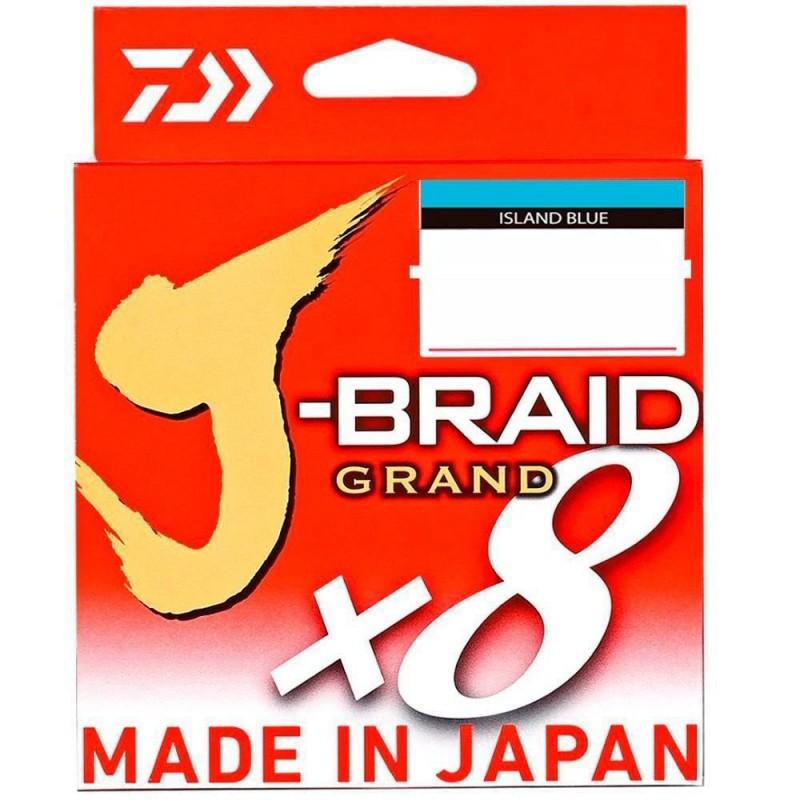 Linha Multifilamento Daiwa J-Braid Grand x8 135m 0,32mm 40lb
