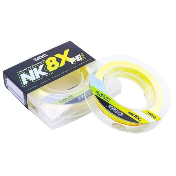 Linha Multifilamento Maruri By Nakamura NK 8X PE 0.23mm 24.3lb 200m  - Pesca Adventure
