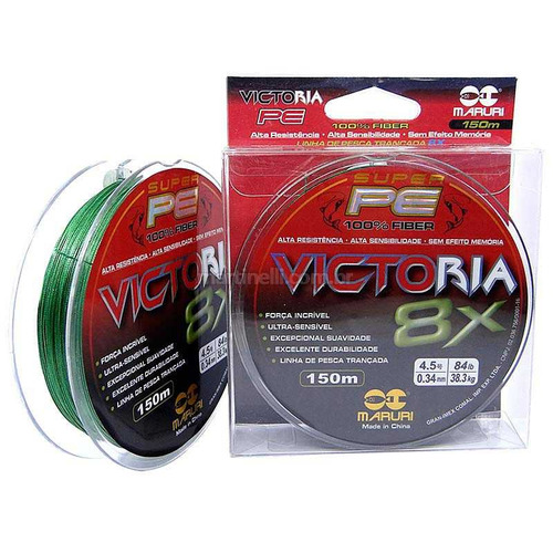 Linha Multifilamento Maruri Victoria 8X 0.27mm 30lb 300m
