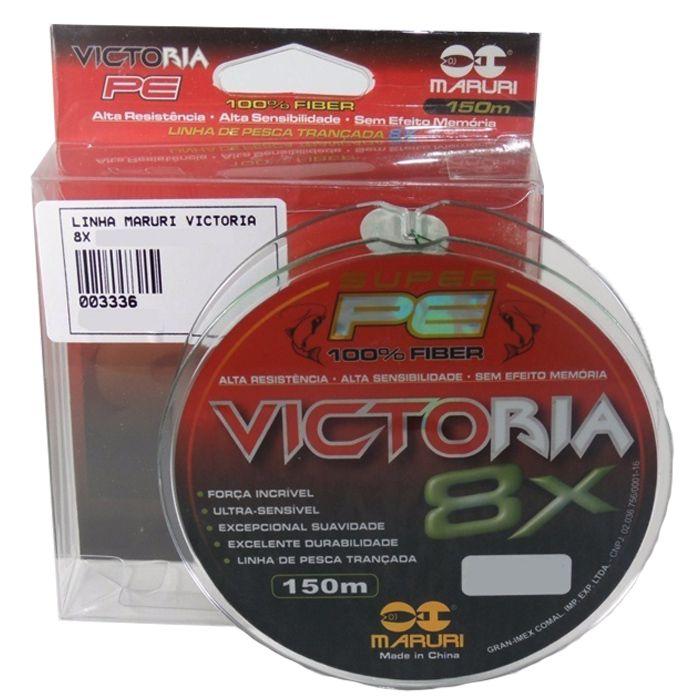 Linha Multifilamento Maruri Victoria 8X 0.34mm 44lb 300m  - Pesca Adventure