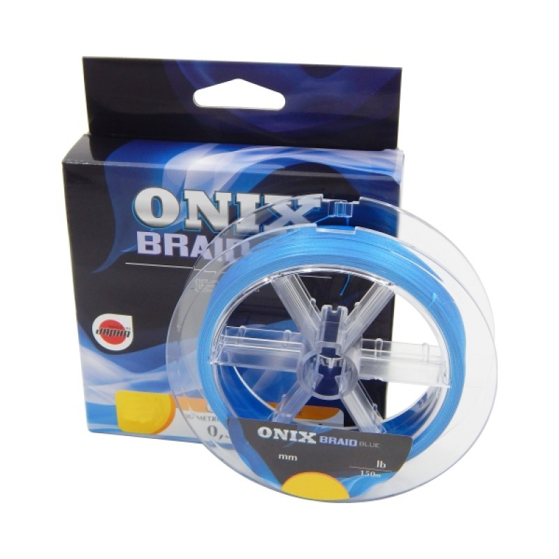 Linha Multifilamento Onix Braid Blue Fastline 0,35mm 44lb 150m   - Pesca Adventure