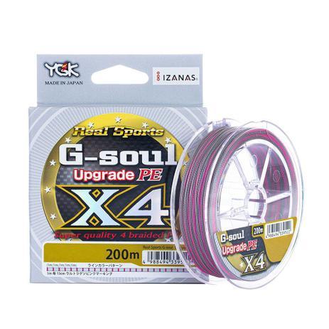 Linha Multifilamento YGK G-Soul Upgrade PE X4 0.17mm 18lb 200m  - Pesca Adventure