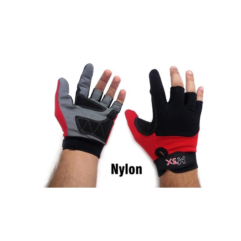 Luva Monster 3X X-Gloves Nylon Tamanho Único  - Pesca Adventure