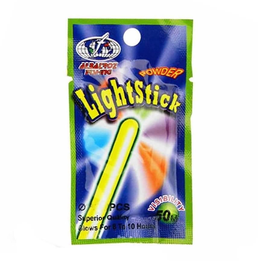 Luz Química Para Pesca Albatroz LightStick 50M - Pacote com 2UN   - Pesca Adventure