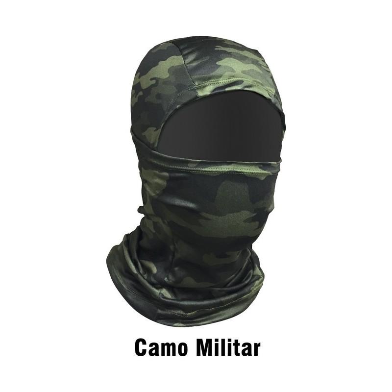 Máscara de Proteção Solar Monster 3X Balaclava - Camo Militar