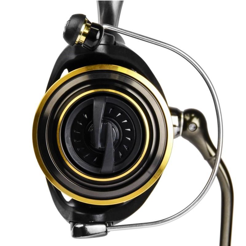Molinete Daiwa Vadel B 4000 - NOVO 6 ROL 5.6:1 Drag 8Kg  - Pesca Adventure