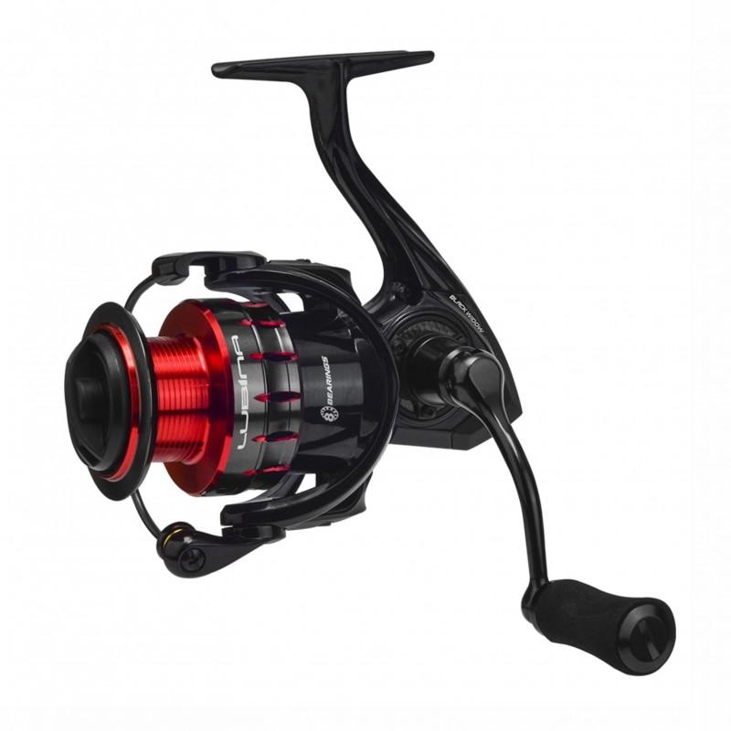 Molinete Marine Lubina Black Widow 4000 Rec 6.2:1 Drag 10kg  - Pesca Adventure