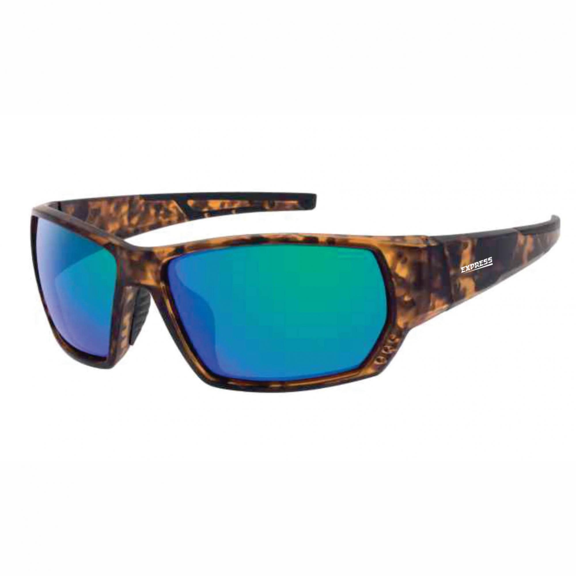 Óculos de Sol Polarizado Express Cação Verde Espelhado   - Pesca Adventure