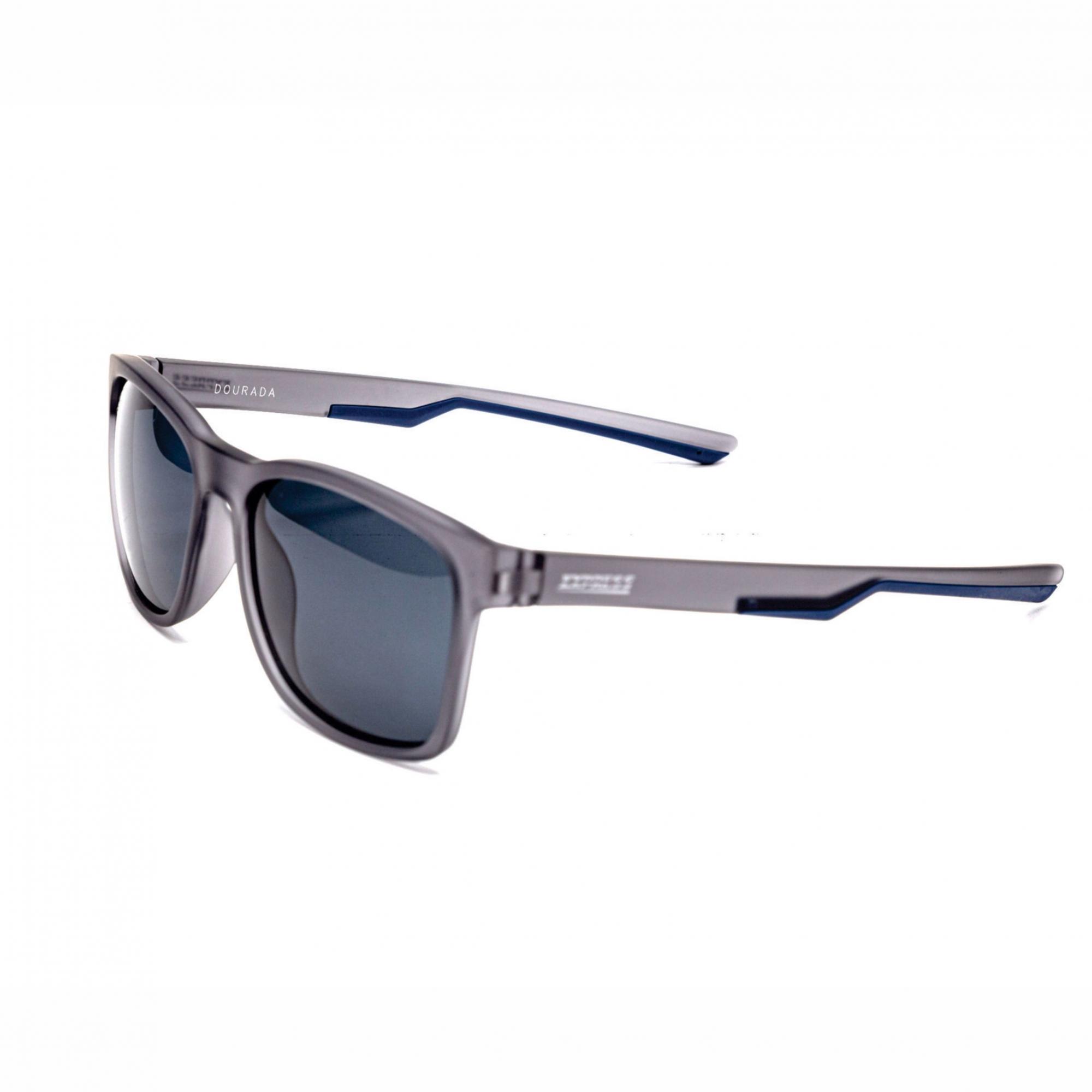 Óculos de Sol Polarizado Express Dourada Azul c/ Preto Fosco