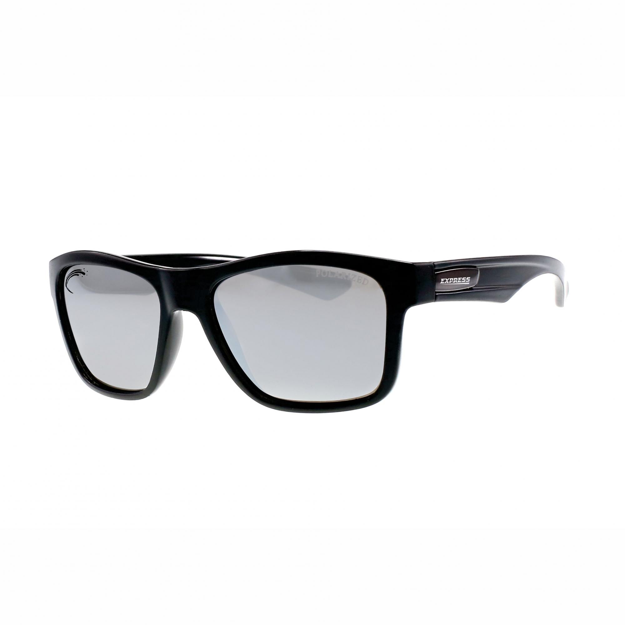 Óculos de Sol Polarizado Express Piranha Prata Espelhado