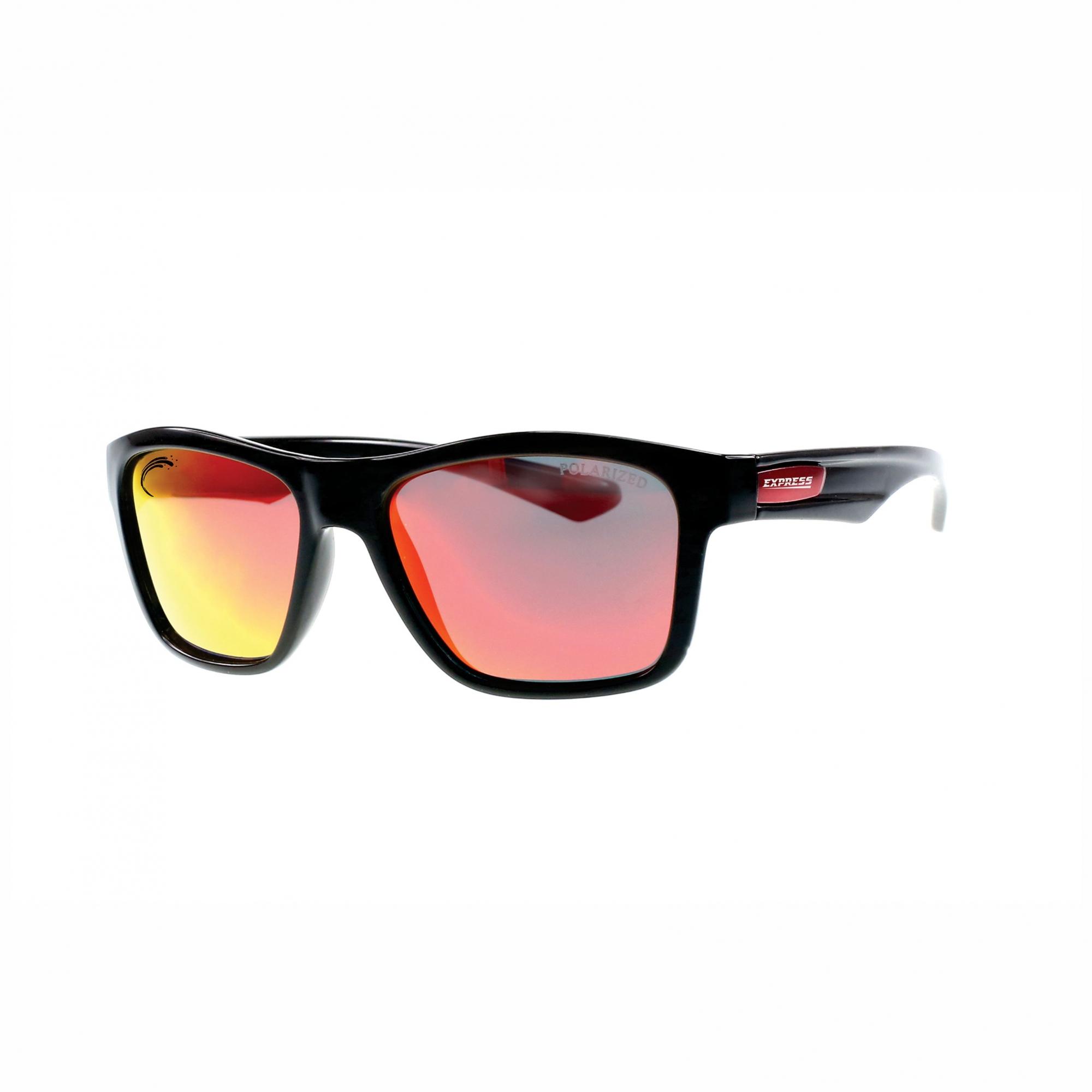 Óculos de Sol Polarizado Express Piranha Vermelho Espelhado