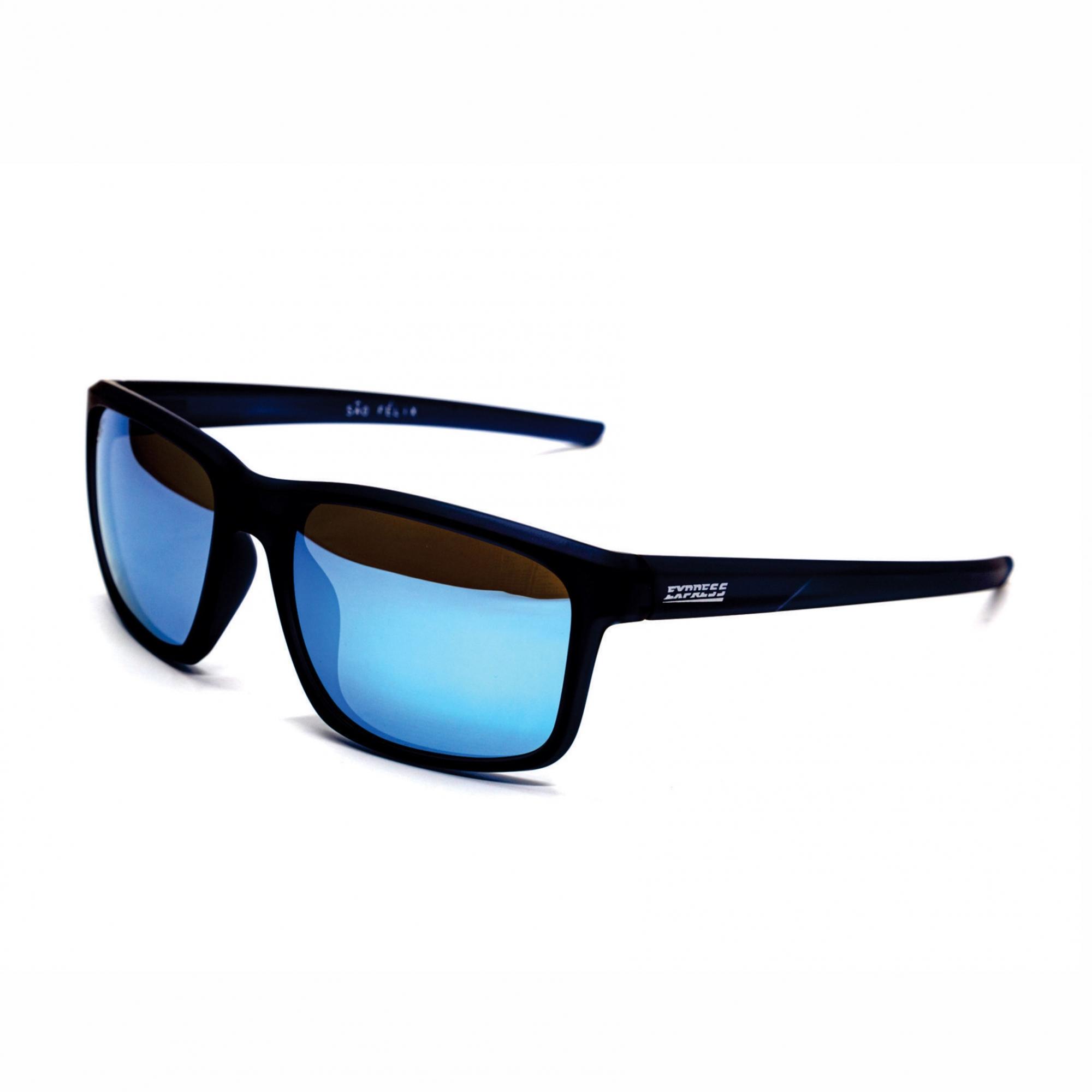 Óculos de Sol Polarizado Express São Felix Azul Espelhado