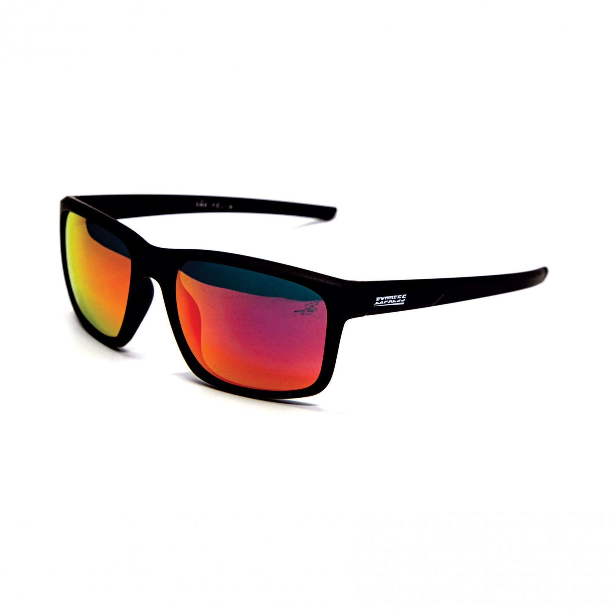 Óculos de Sol Polarizado Express São Felix Laranja Espelhado