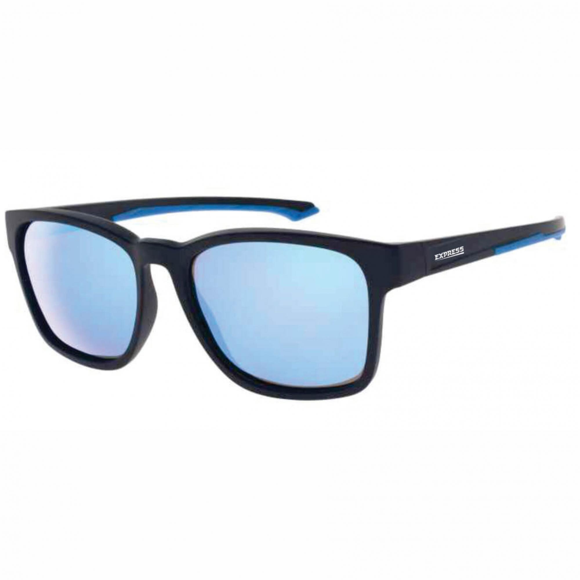 Óculos de Sol Polarizado Express Xaréu Azul Espelhado  - Pesca Adventure