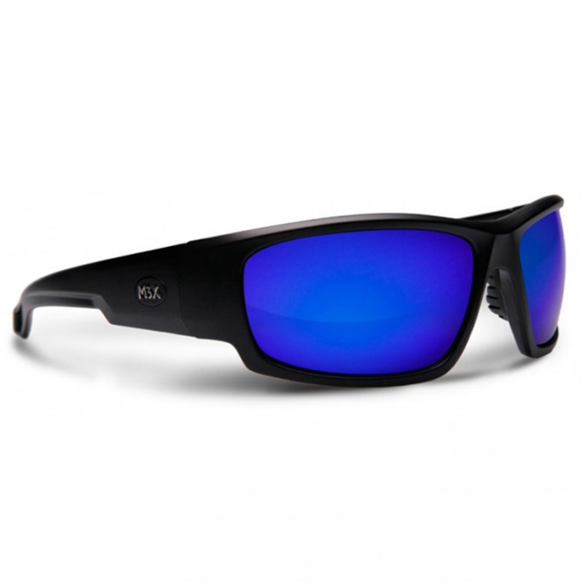 Óculos de Sol Polarizado Monster 3x Black Monster Azul