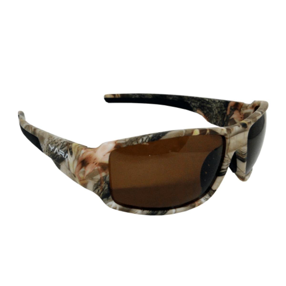 Óculos de Sol Polarizado Yara Dark Vision 01352 Camo2 - Lente Marrom