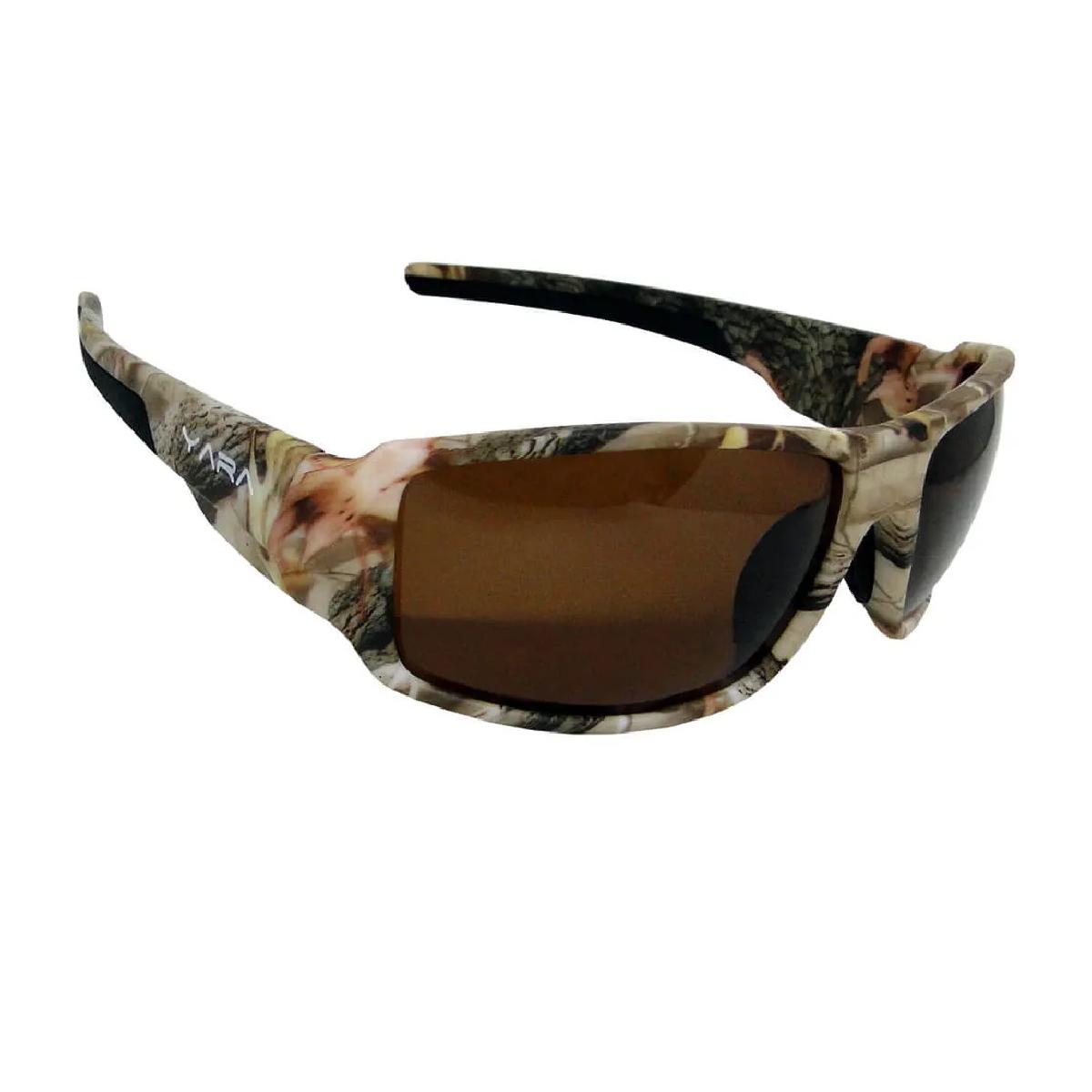 Óculos de Sol Polarizado Yara Dark Vision 01352 Camo2 - Lente Marrom  - Pesca Adventure