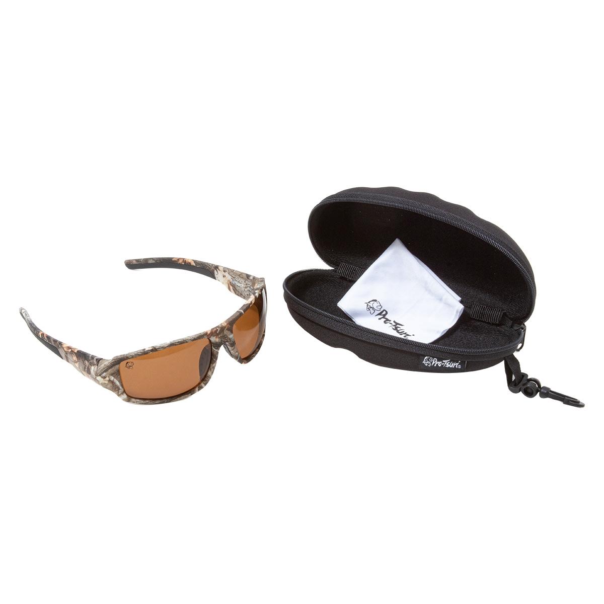 Óculos Polarizado Pro-Tsuri Vorax - Camuflado Fosco 10P0043  - Pesca Adventure