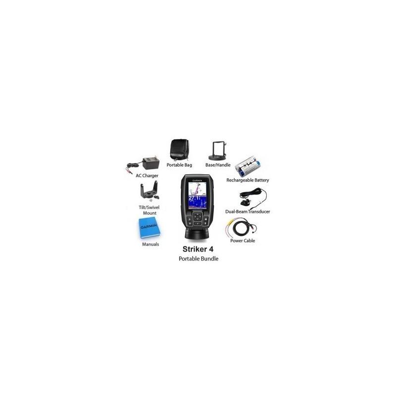 Sonar Garmin Striker 4 Fishfinder With Built-In GPS Com Transducer 3.5