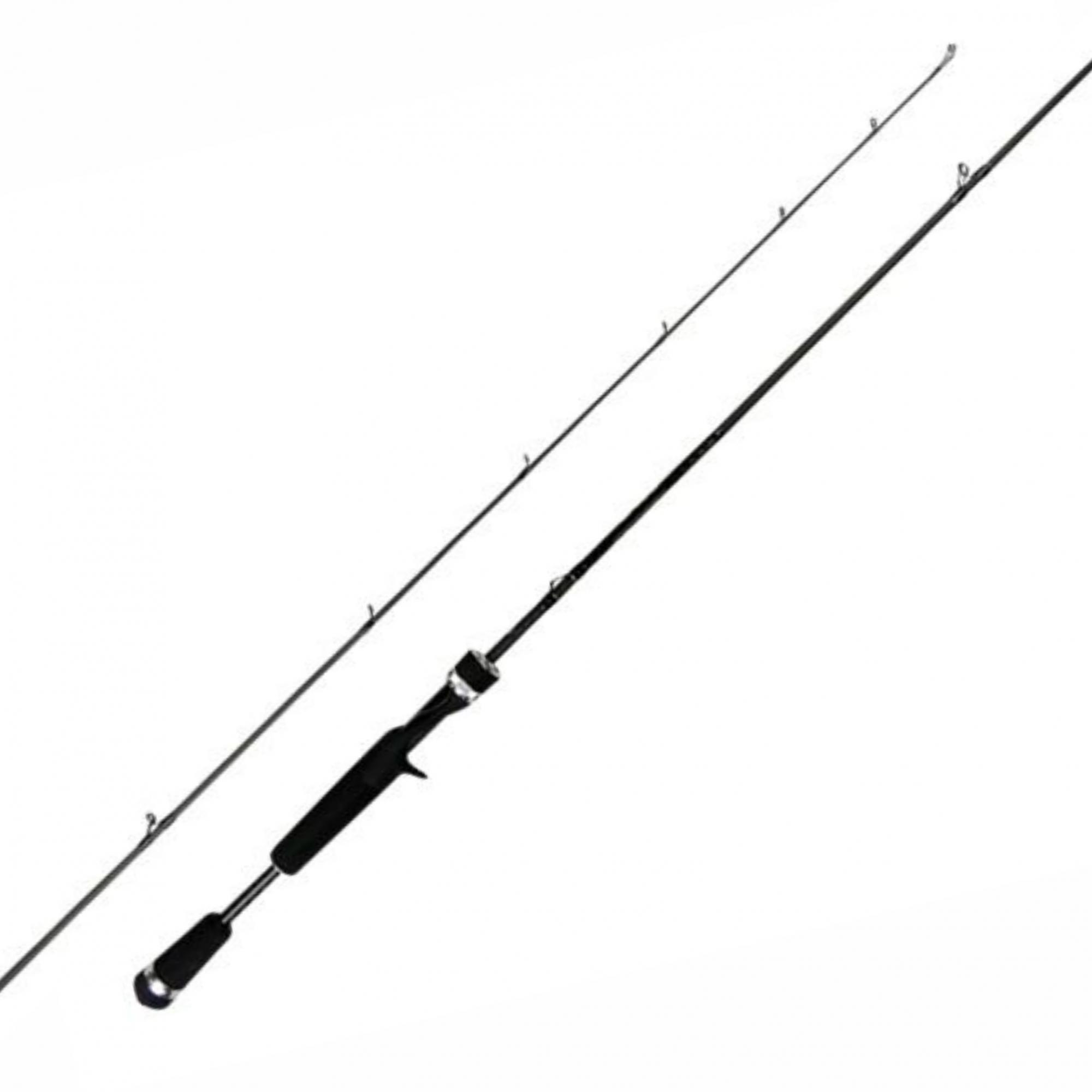 Vara 13 Fishing Fate Black 581 1,73m 10-17lb Para Carretilha Inteiriça  - Pesca Adventure