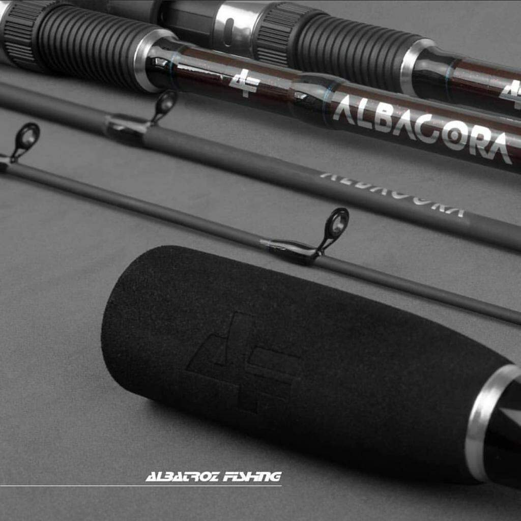 Vara Albatroz Albacora 2402 (2,40m) 20-50lb Para Carretilha 2 Partes  - Pesca Adventure