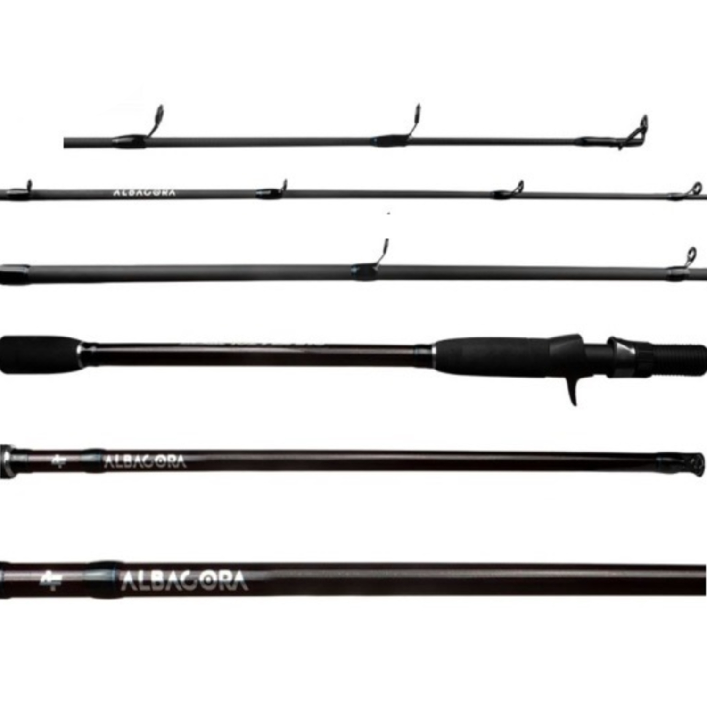 Vara Albatroz Albacora 2702 (2,70m) 20-50lb Para Carretilha 2 Partes   - Pesca Adventure