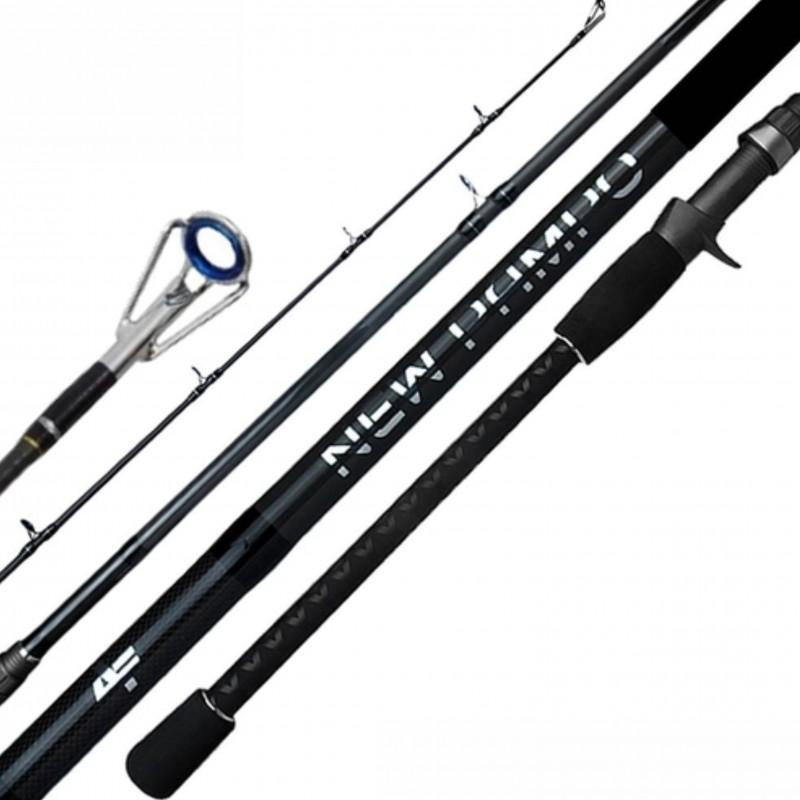 Vara Albatroz New Pampo 2702 (2,70m) 20-50lb 2 partes Para Carretilha  - Pesca Adventure