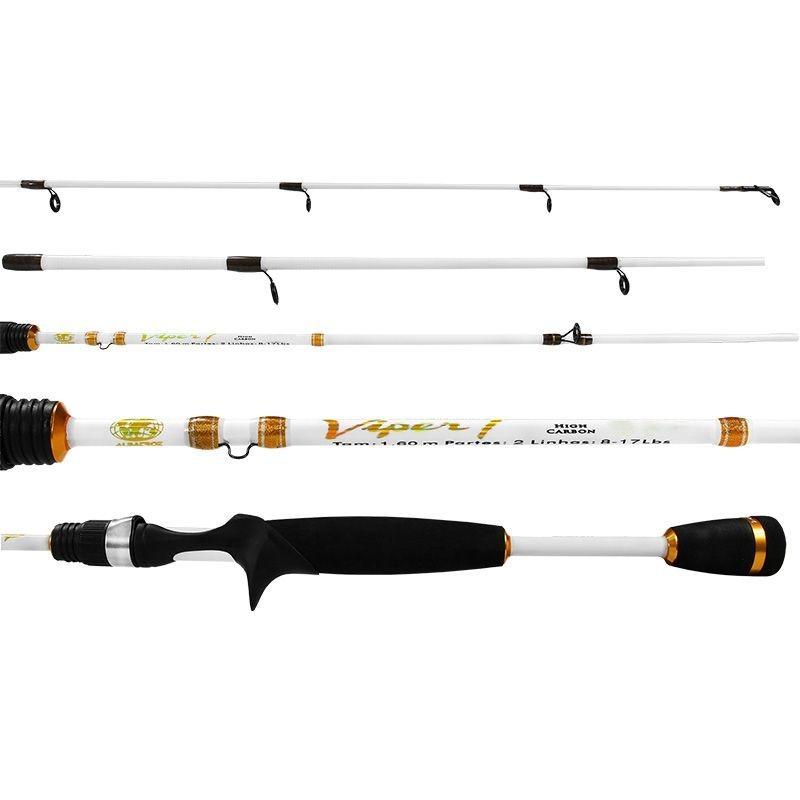 Vara Albatroz Viper I 532 (1,60m) 8-17lb Carretilha