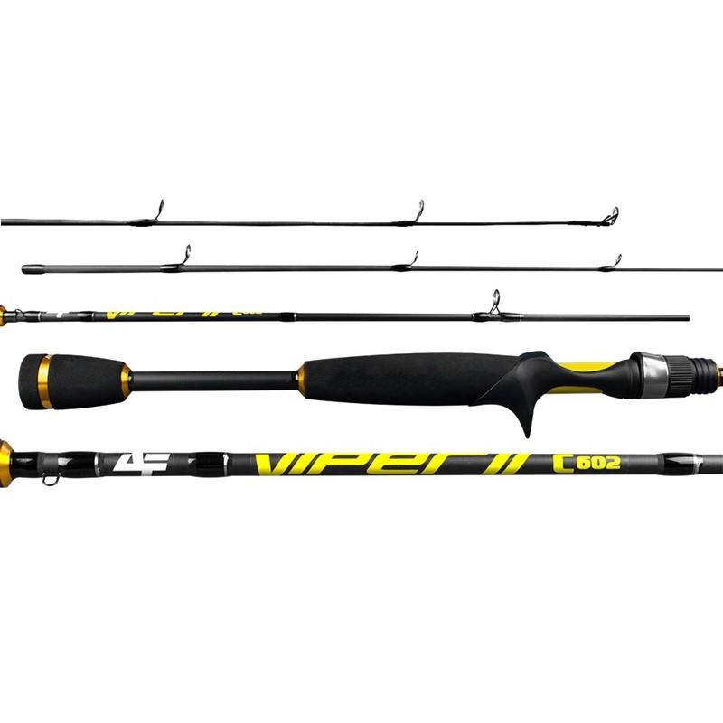 Vara Albatroz Viper II 561 1,68m 10-20lb Carretilha Inteiriça  - Pesca Adventure