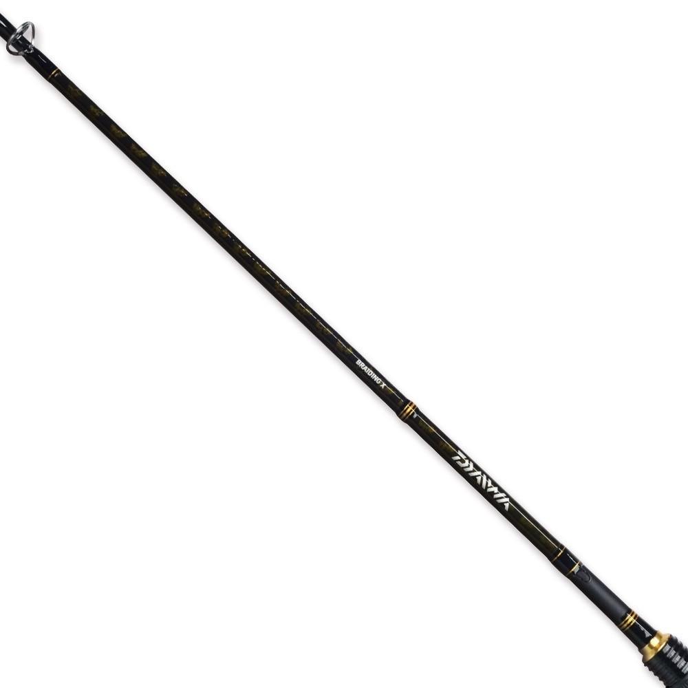 Vara Daiwa Aird X 562MXB (1,68m) 8-17lb 2 Partes Para Carretilha  - Pesca Adventure
