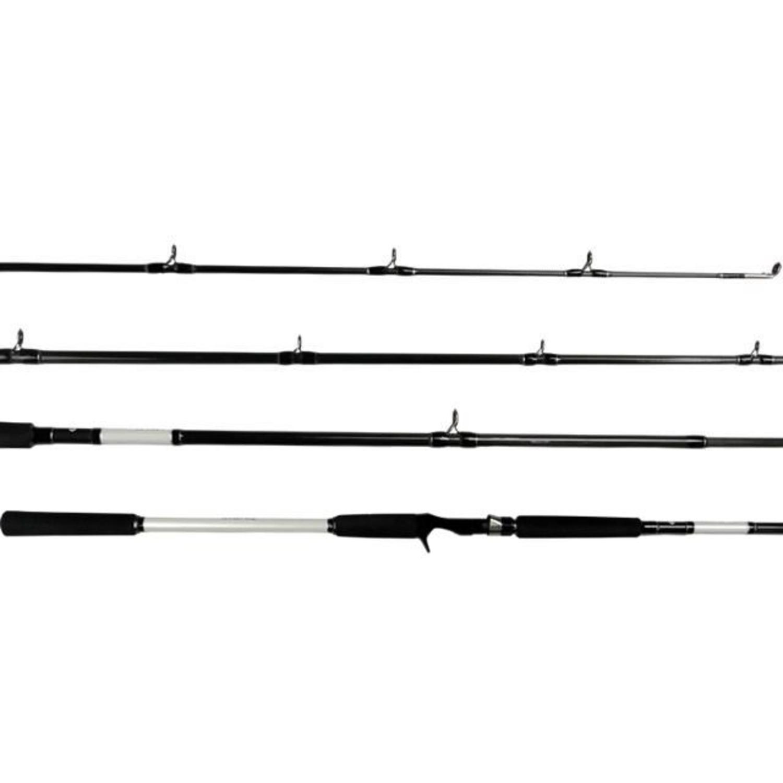 Vara Daiwa Lexa BR 802HFB  2,44m 20-50lb 2 Partes Para Carretilha  - Pesca Adventure