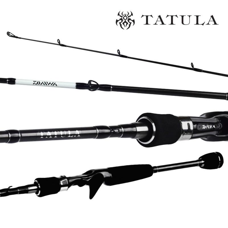 Vara Daiwa Tatula 581 (1,73m) 8-12lb Carretilha Inteiriça