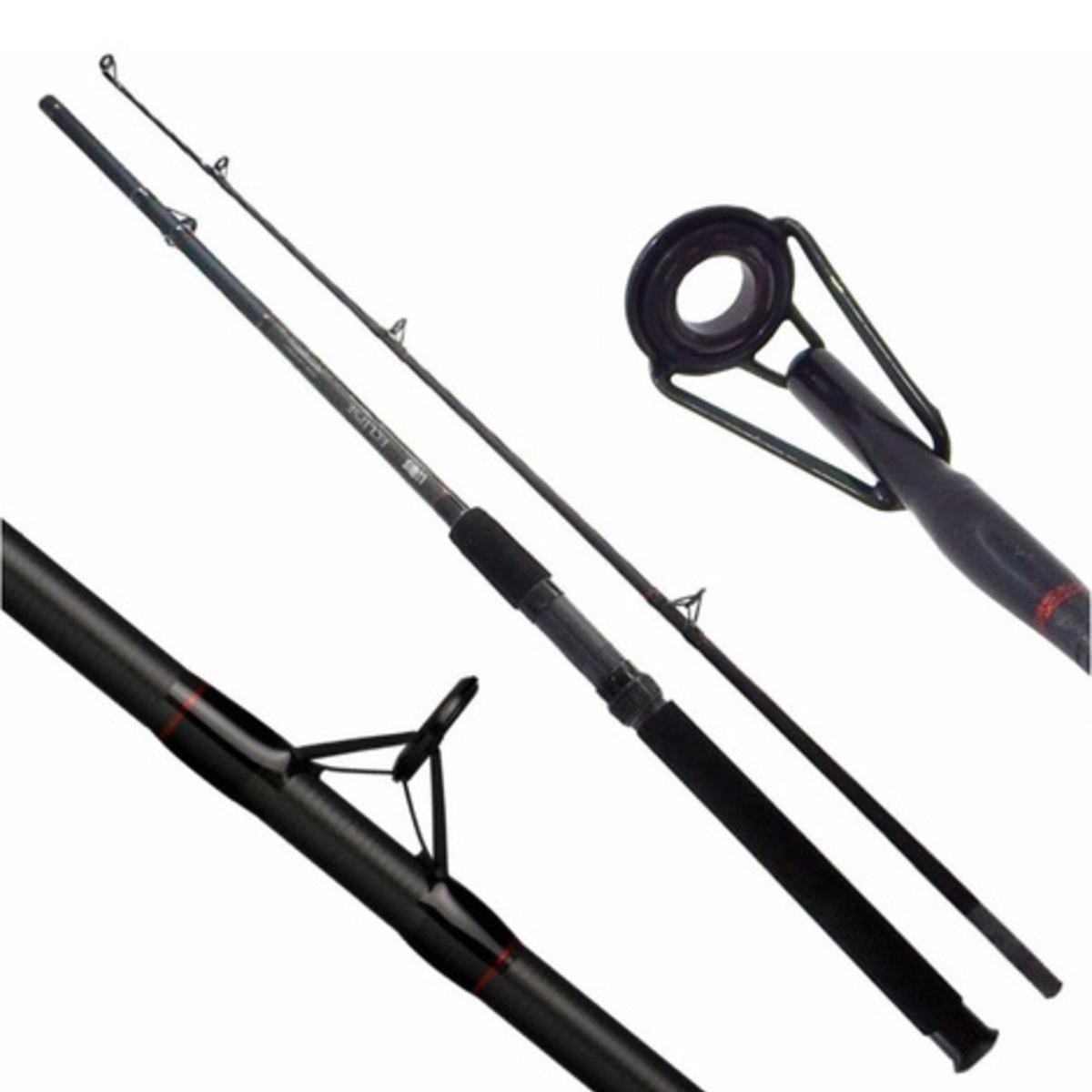 Vara Lumis Eclipse 2,10m 15-30lb 2 Partes Para Molinete  - Pesca Adventure