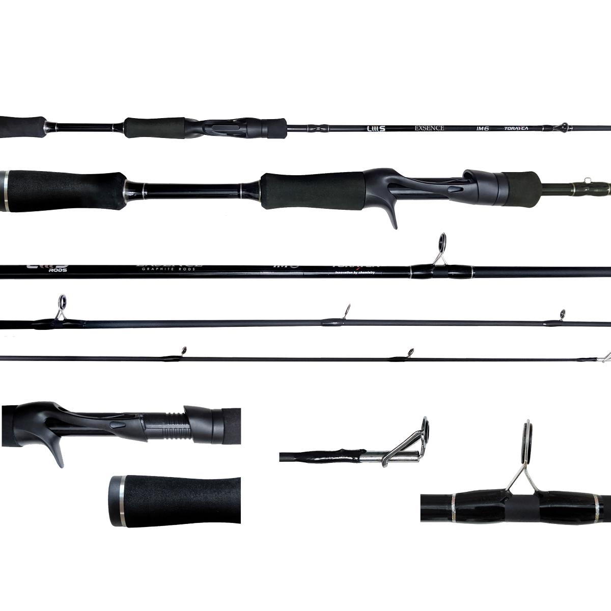 Vara Lumis Exsence 602 (1,83m) 10-25 lbs P/ Carretilha 2 Partes  - Pesca Adventure