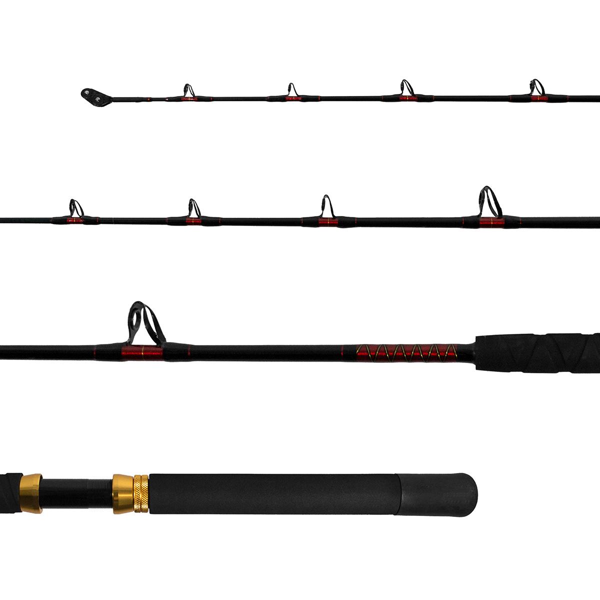 Vara Lumis Extreme Carretilha 1,83m 100-200lb Inteiriça  - Pesca Adventure