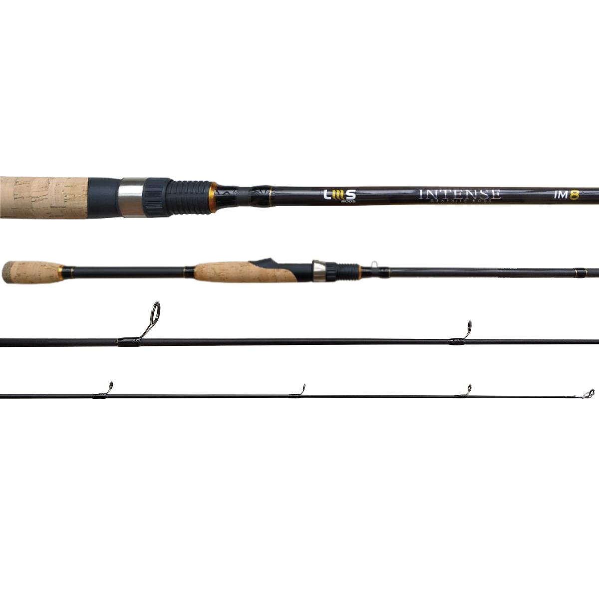 Vara Lumis Intense 631 (1,89m) 5-14Lb Para Molinete Inteiriça  - Pesca Adventure