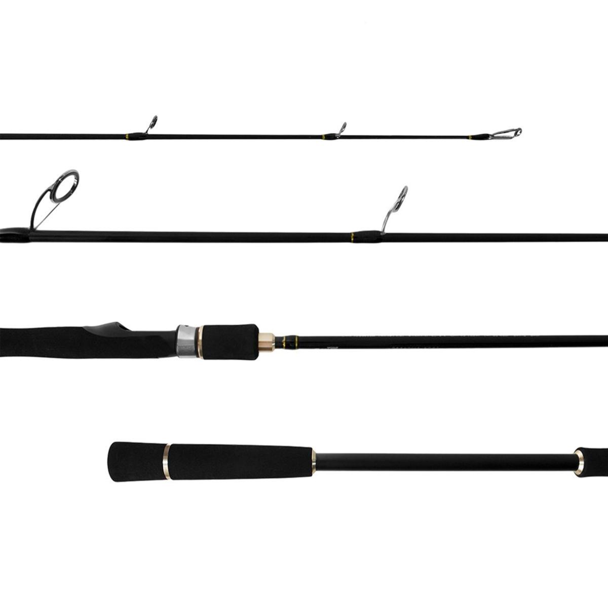 Vara Lumis Jigging Pro 6'0 (1,83m) 20-40lb 2 Partes Molinete