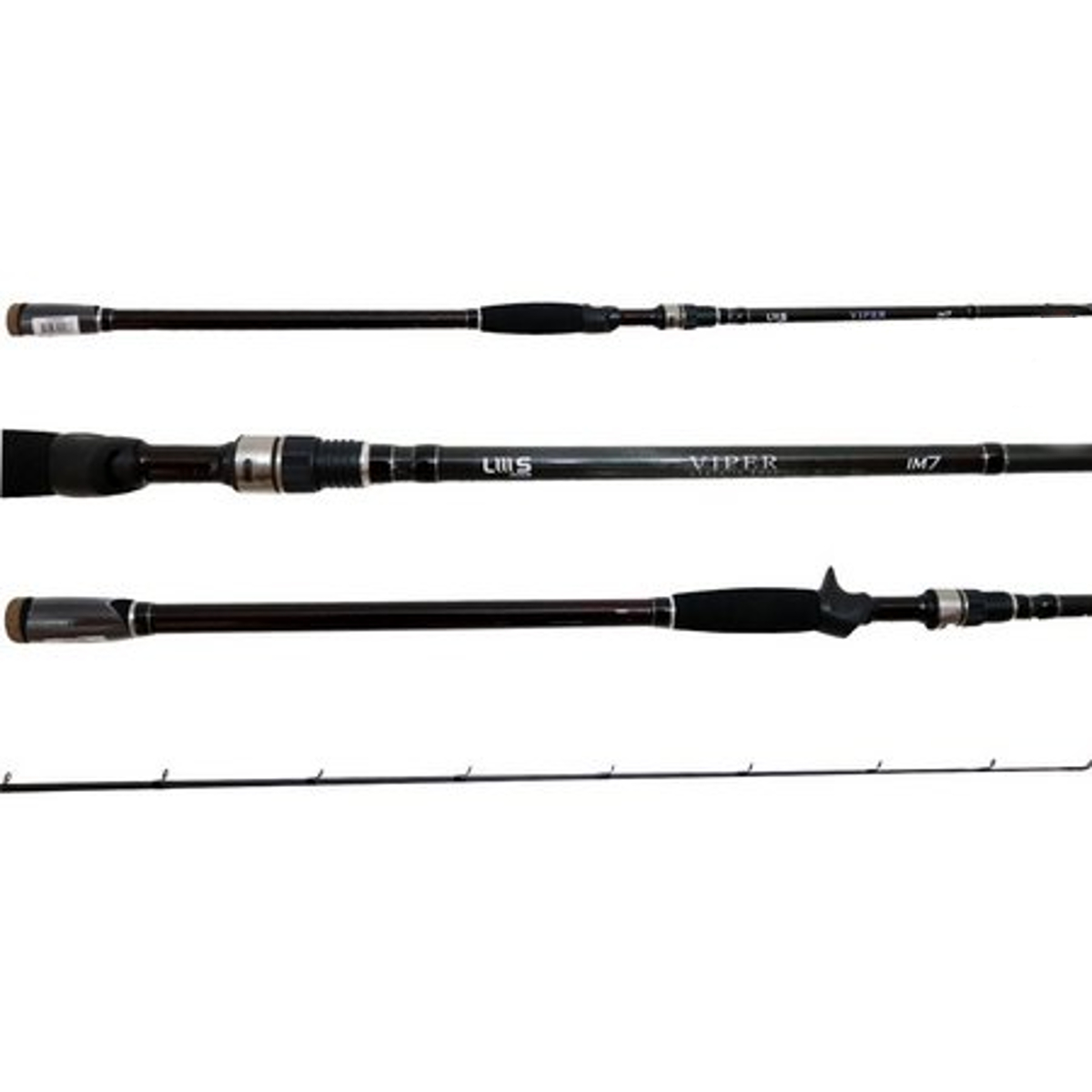 Vara Lumis Viper 562 (1,68m) 6-17lb Carretilha 2 Partes  - Pesca Adventure