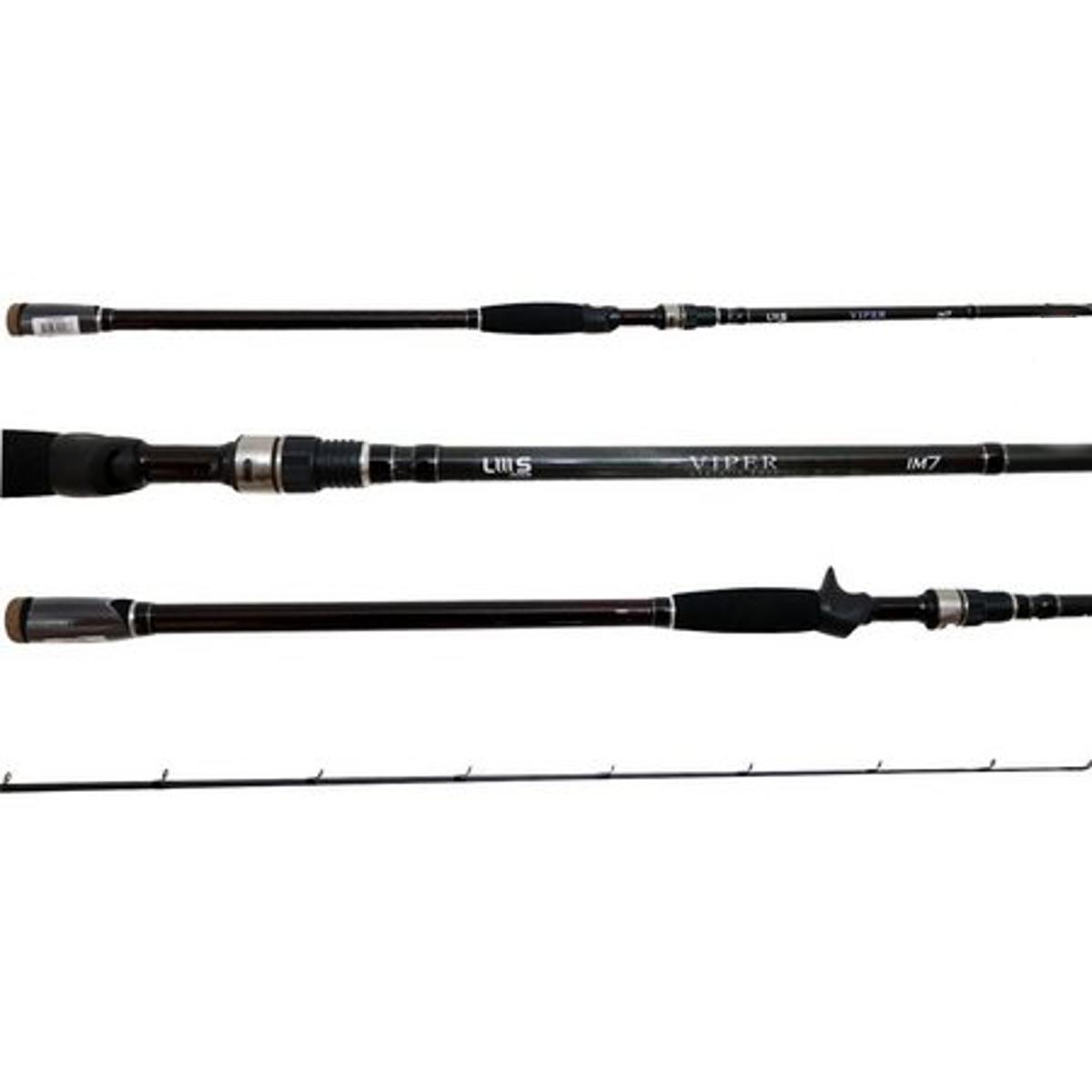 Vara Lumis Viper 602 (1,83m) 6-17lb Carretilha 2 Partes  - Pesca Adventure