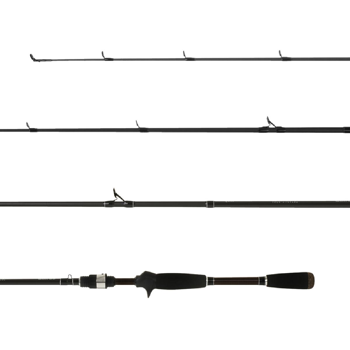 Vara Lumis Viper 702 (2,13m) 15-30lb Carretilha 2 Partes  - Pesca Adventure