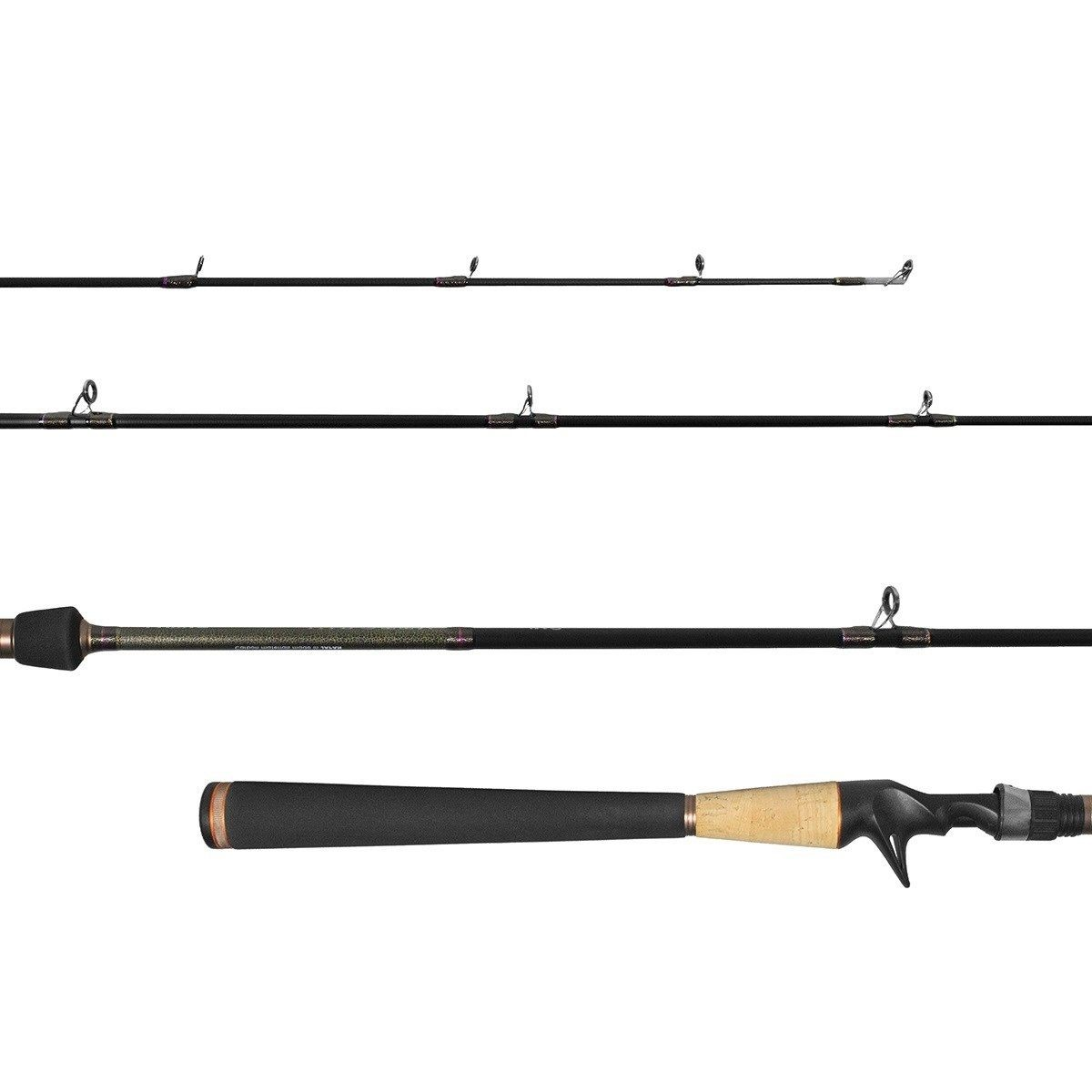 Vara Lumis Virotty 562 (1,68m) 6-15lb 2 Partes Carretilha  - Pesca Adventure