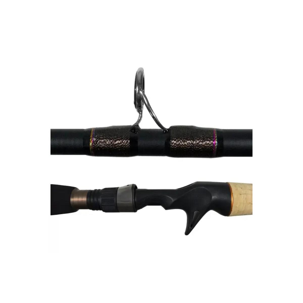 Vara Lumis Virotty 602 (1,83m) 8-17lb 2 Partes Carretilha  - Pesca Adventure