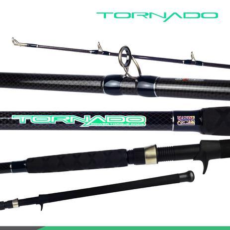 Vara Marine Tornado 802h (2,44m) 20-40lb Carretilha Duas Partes