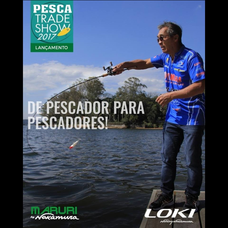 Vara Maruri by Nelson Nakamura Loki C58 (1,73m) 7lbs Para Carretilha   - Pesca Adventure