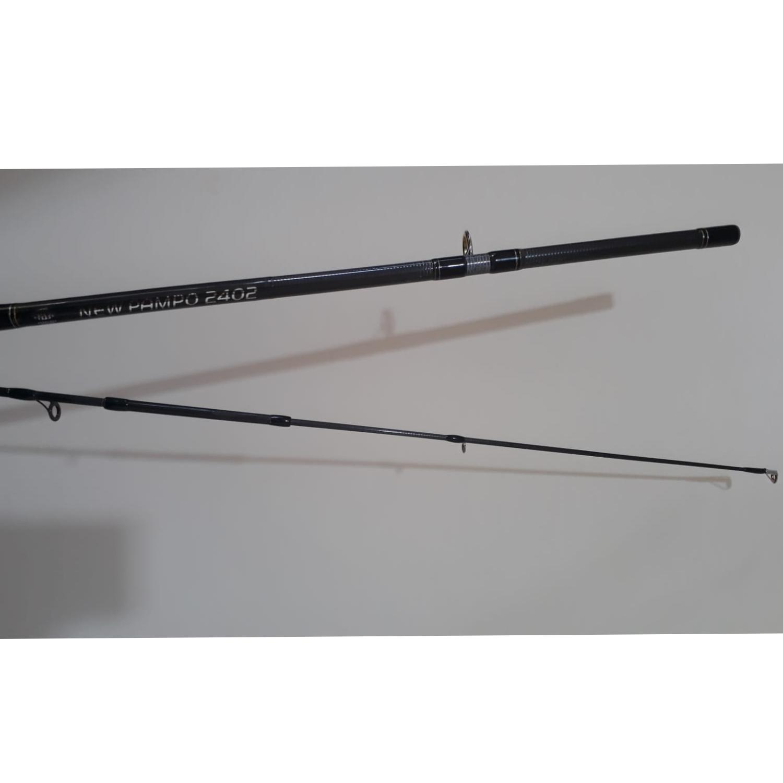 Vara (Recondicionada) Albatroz New Pampo 2402 (2,44m) 20-50lb 2 Partes Para Molinete  - Pesca Adventure